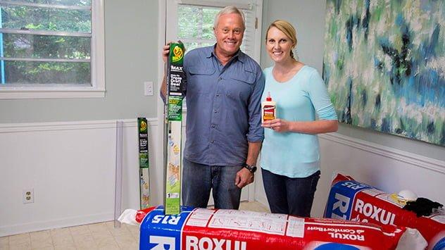 Danny Lipford and Chelsea Lipford with some fall prep essentials.