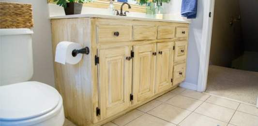 How To Glaze Cabinets for Inexpensive Update