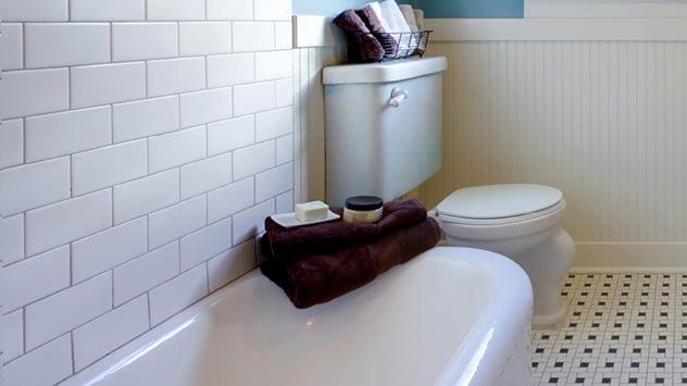 shower grout tile