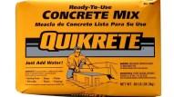 Standard concrete mix