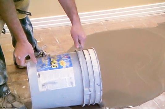 leveling a subfloor
