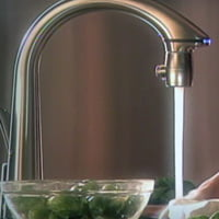 Delta touch and hands free faucet.