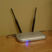 Wireless computer router.