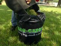 Bag-Caddy trash bag holder