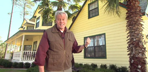 Danny Lipford demonstrates faux building products for your home