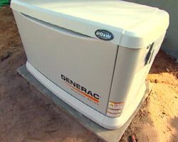 Generac whole house standby generator