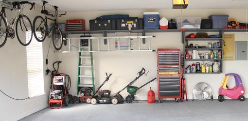 Completed ultimate garage makeover.
