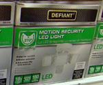 Defiant Motion Security LED Light