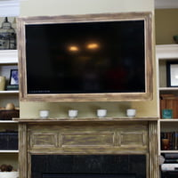 Television picture frame.