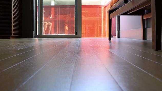 Wood floor closeup