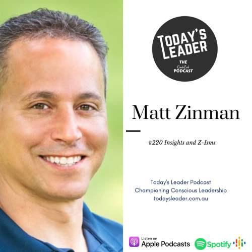 #220 Matt Zinman - Performance Insights and Z-Isms