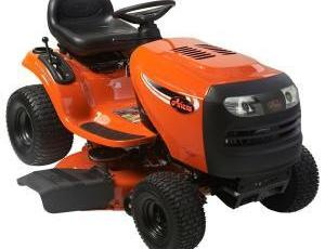 2011 Ariens 42 in 19.5 HP BS Automatic Riding Mower Model A195BG42 Review 2
