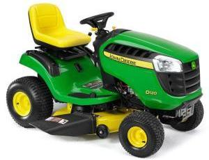 2011 John Deere 42 in 21 HP Riding Mower Model D120 Review 5