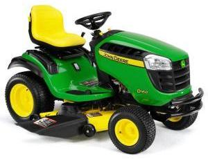 2011 John Deere 48 in 24 HP Riding Mower Model D160 Review 2