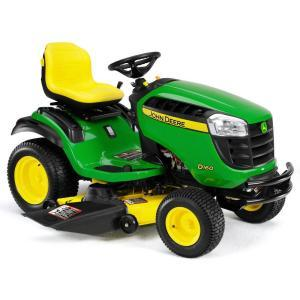 2011 John Deere 48 in 24 HP Riding Mower Model D160 Review 1