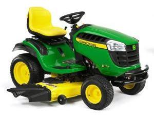 2011 John Deere 54 in 26 HP Riding Mower Model D170 Review 4