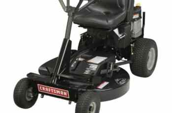 2012 Craftsman 28 in 12.5 hp Rear Engine Rider Model 28034 Review 20