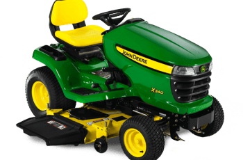 2012 John Deere X340/54X 54in, 25hp, Hydro Review 5