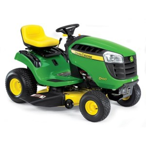 2012 John Deere 42 in 17.5 HP Gear Drive Model D100 Review 1