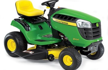 2012 John Deere 42 in 17.5 HP Gear Drive Model D100 Review 5