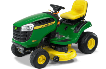 2012 John Deere 42 in 21 HP Hydro Model D120 Review 14