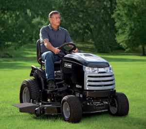 2012 52 in 26 hp Craftsman CTX 9500 Premium Model 25006 Garden Tractor Review 7