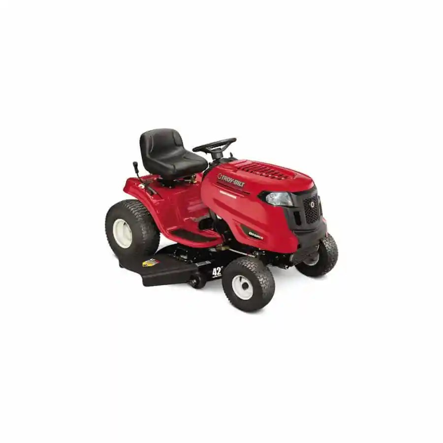 2013 troy bilt bronco 42 in 20 hp lawn tractor review for Best motor oil for lawn mowers