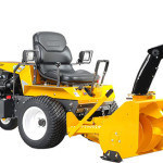 Front mount snow thrower