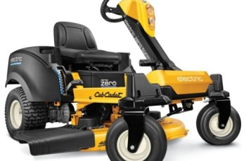 ICES Recognizes Cub Cadet Innovation of Fully-Electric Zero-Turn Mower 2