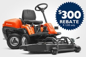 Husqvarna dealers want to offer you money saving coupons, rebates, giveaways, and special programs. 14