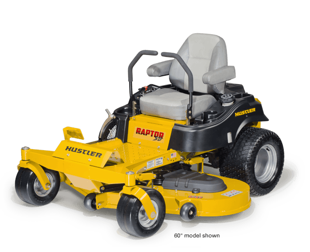 Safe hustler lawn mower tractors version
