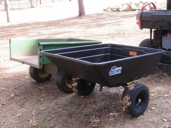 OxCart Utility Cart, John Deere 80 Dump Cart