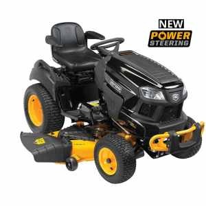 54 inch Model 20447 Garden Tractor with Power Steering!