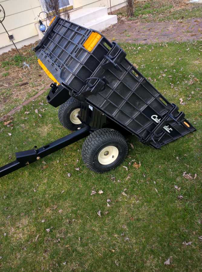 Cub Cadet Hauler There Are Cheap Yard Carts Good Carts