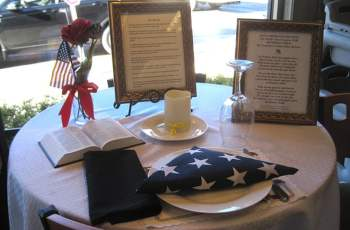 Honoring the Fallen and Missing With A Place At The Table 11
