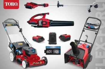Toro 60V Flex-Force Power System Collection