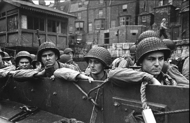 Resultado de imagen de desembarco de Normandía, el Chase
