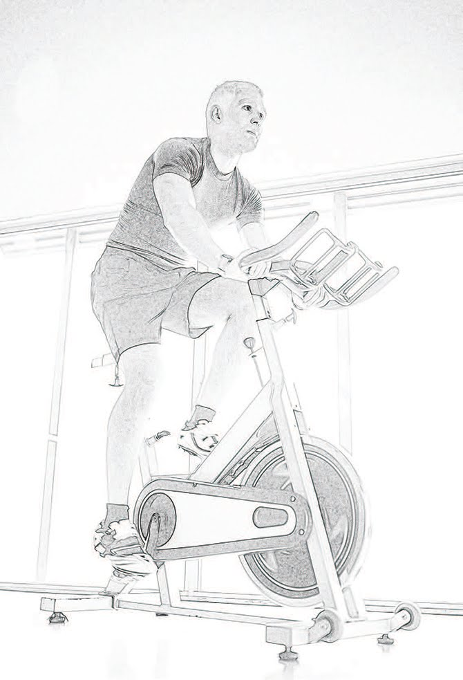 Pedaling a bicycle has been shown to reduce symptoms of Parkinson's Disease.