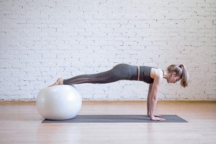 5 Balance Ball Exercises to Improve Stability