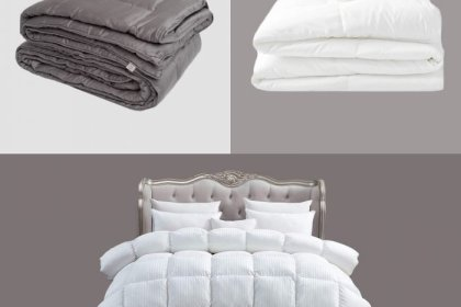 5 Best Down Comforters for Sounder Sleep, According to Reviewers