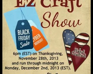 Black Friday / Cyber Monday Craft Show