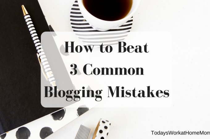 Are you a casualty of common blogging mistakes? New and experienced bloggers alike can fall victim to these 3 things that can threaten your blog's success.