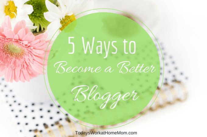 As bloggers, do you agree we should always be striving to become a better blogger? I know I do. Here's 5 ways you can grow in your blogging.