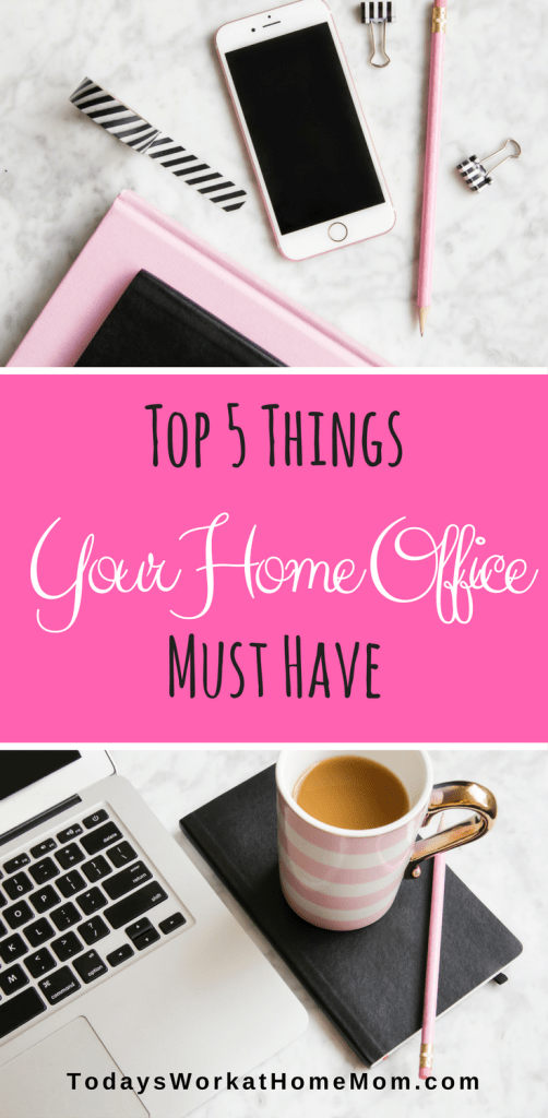 When you work from home you want to make the most of it. You need things to make that happen including these top 5 must have items for your home office.