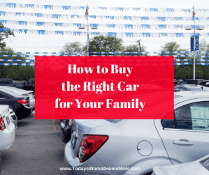 Feeling overwhelmed with wondering how to buy the right car for your family? Learn how to make it easier plus save time and money!
