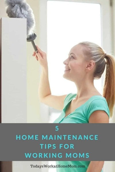 5 Home Maintenance Tips For Working Moms