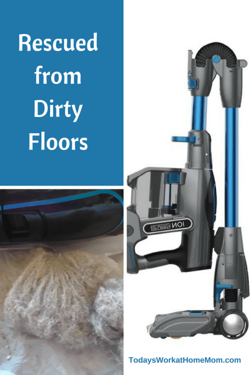 I confess my dirty floors were giving me grief. After moving to our new home three ago I had trouble keeping them clean until I got my Shark Ionflex Vacuum.