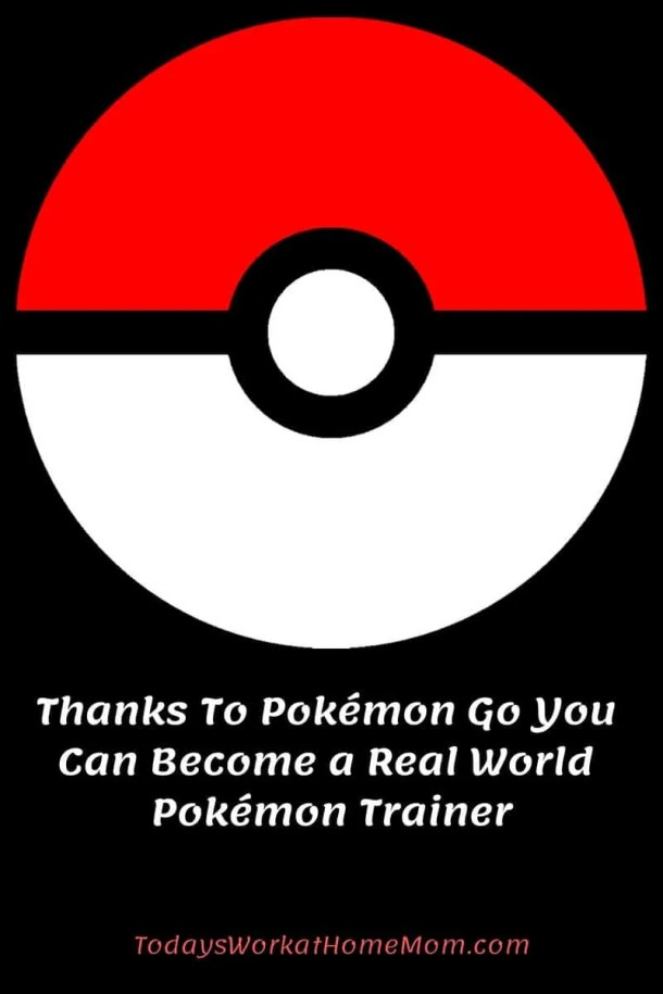 Thanks To Pokémon Go You Can Become a Real World Pokémon Trainer