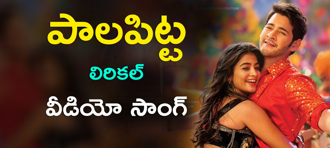 Paala Pitta Lyrical Video Song