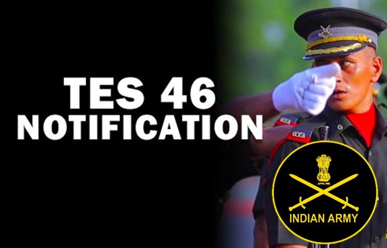 Indian Army TES 2021 : Indian Army 10+2 TES 46 January 2022 Online Form 2021